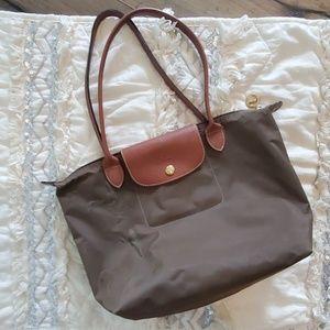 "Longchamp Le Pliage ""Shopping"" Tote"